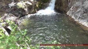 Süzülen Gelin Şelaleleri Somakseğri Kanyonu 3. Etap Antalya