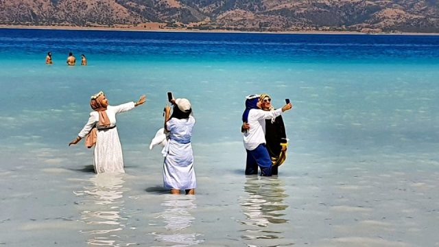 Salda Gölü Manzaraları Salda Sahili