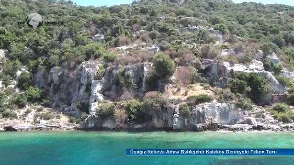 Üçağız Kekova Adası Batıkşehir Kaleköy Denizyolu Tekne Turu