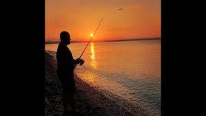 Antalya Konyaaltı Plajında Balık Tutmak - Manzarası Yeter