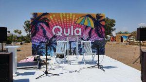 Antalya Lara Plajları - Qula Beach Club Restaurant Cafe Bar Plaj Canlı Müzik