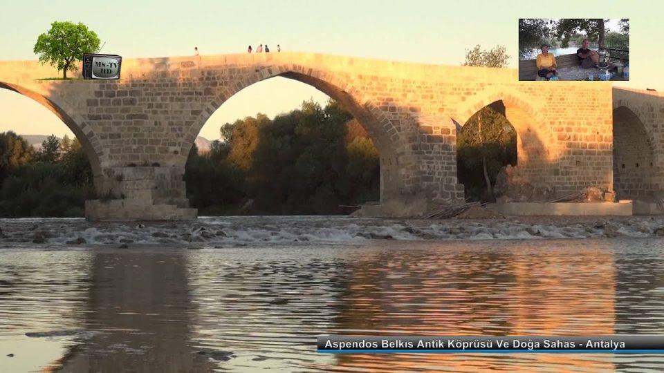 Aspendos Belkıs Antik Köprüsü