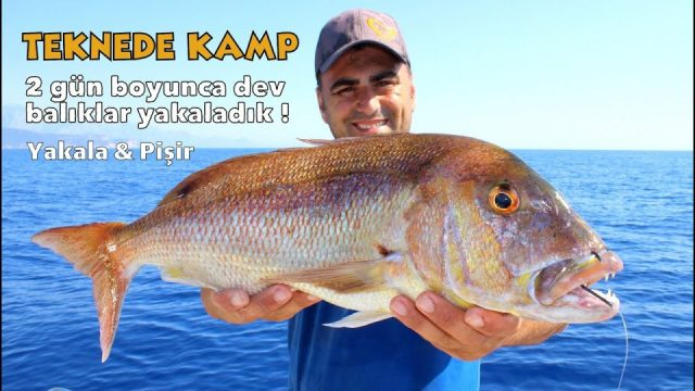 Balık Yakala Ya Da Aç Kal - Adrasan'da Denizde 2 Gün Efsane Macera