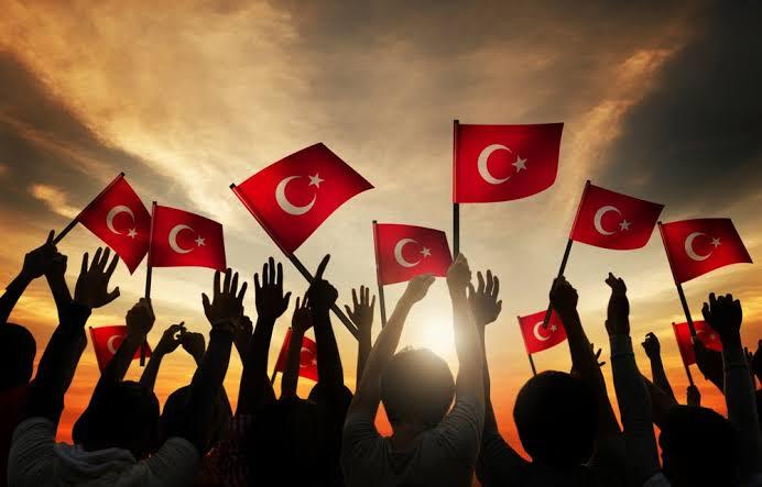 bir nesil ali aksoy türk gençliğj bayrak