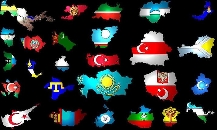 verin türkün yurdunu türk turan devletleri