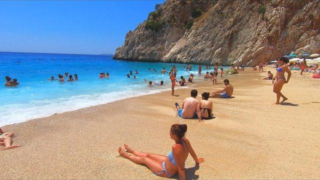 Kaputaş Beach in Kaş Antalya Türkiye