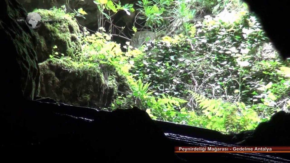 Peynirdeliği Mağarası – Gedelme Antalya