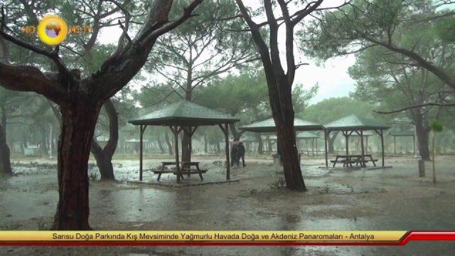 Sarısu Doğa Parkı Antalya Gezilecek Yerleri