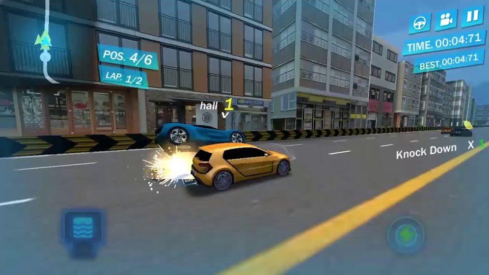 Sokak Yarışı 3D – Araba yarışı oyunu