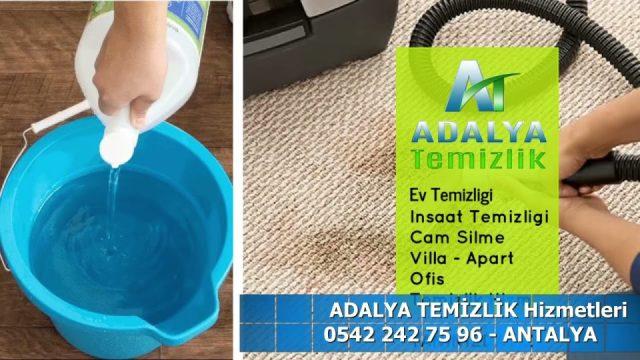 Antalya Ev Temizlik Firmaları 0542 242 7596 Ev Ofis Apartman Temizliği İnşaat sonrası temizlik