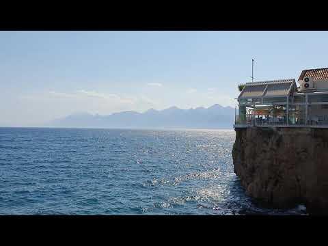 Yat Limanı Manzarası Antalya Denizi