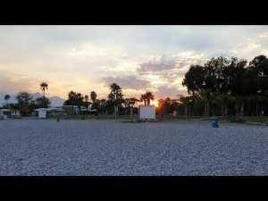Antalya Beach Park Gün Batımı Manzarası