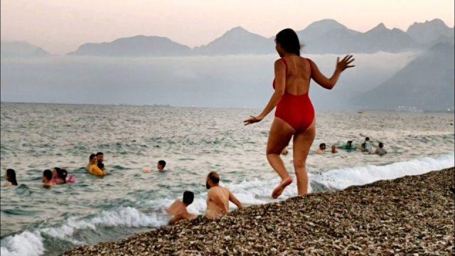 Konyaaltı Plajlarından Manzaralar Antalya