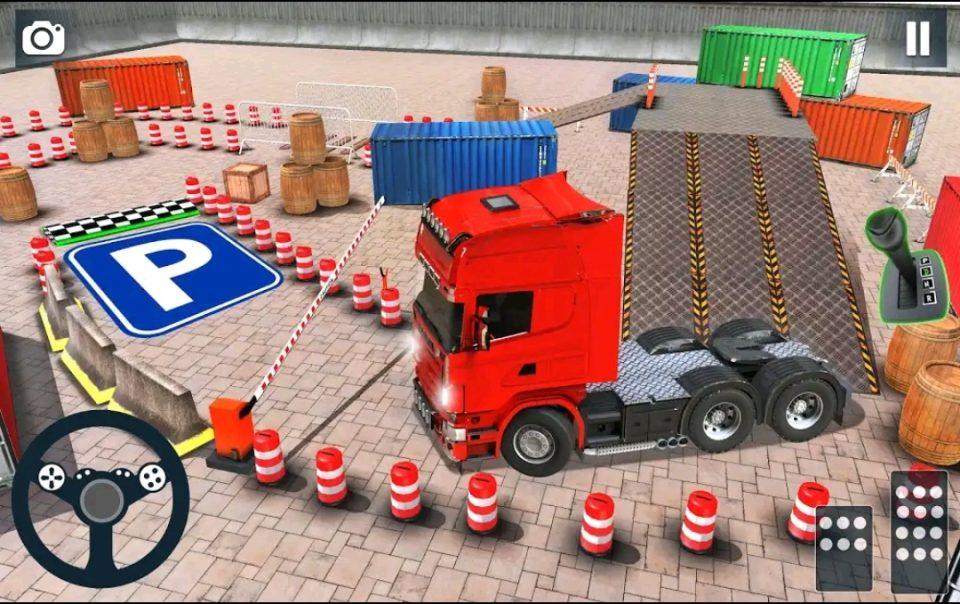 kamyon sürme park etme oyunları android oyunlar