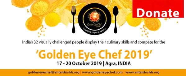Donate Golden Eye Chef 2019