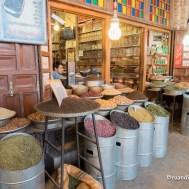 Spezie al Bazar di Kerman