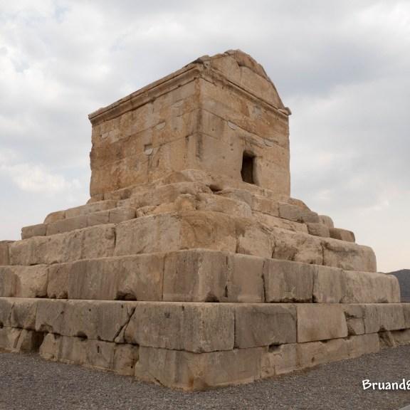 Tomba di Ciro il Grande, Pasargarde