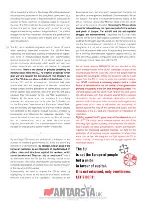 Antarsya UK LEXIT campaign