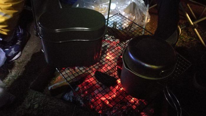ハンゴウ炊飯