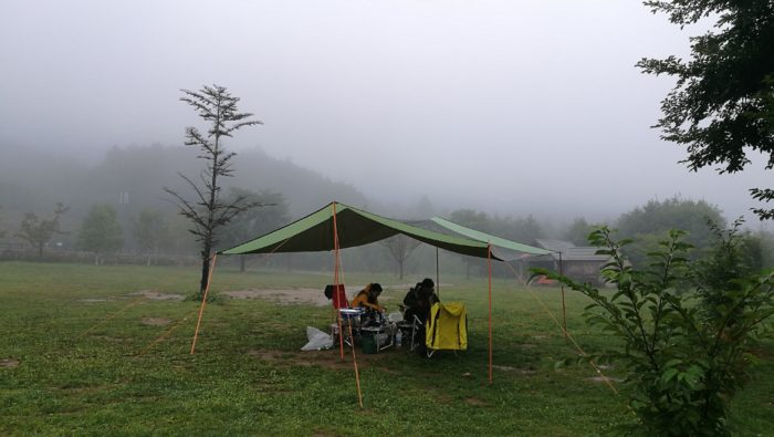 瑞牆山キャンプ場