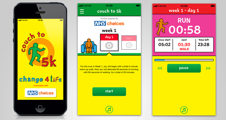 Antbits Change4Life Couch To 5k App