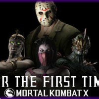 ADG Plays Mortal Kombat X Jason And Horror Pack DLC For The First Time