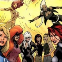 Most Baddass Female Marvel Characters Infographic