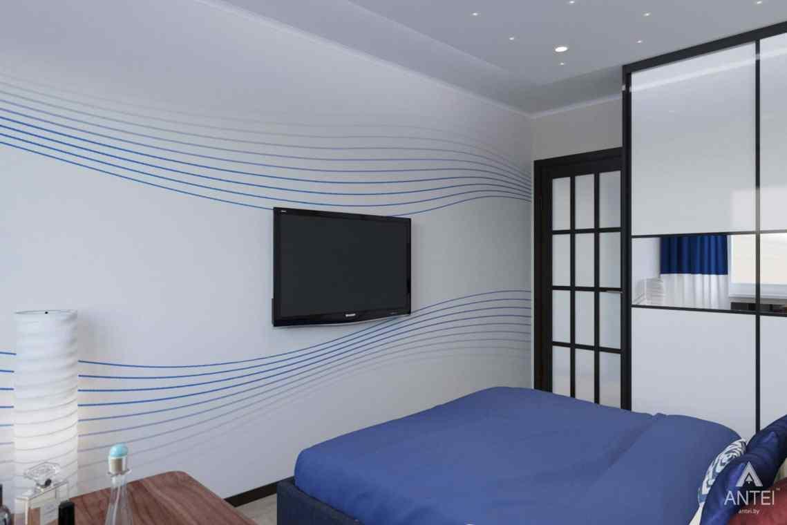 Дизайн интерьера квартиры в Гомеле, ул. Победы - спальня фото №3
