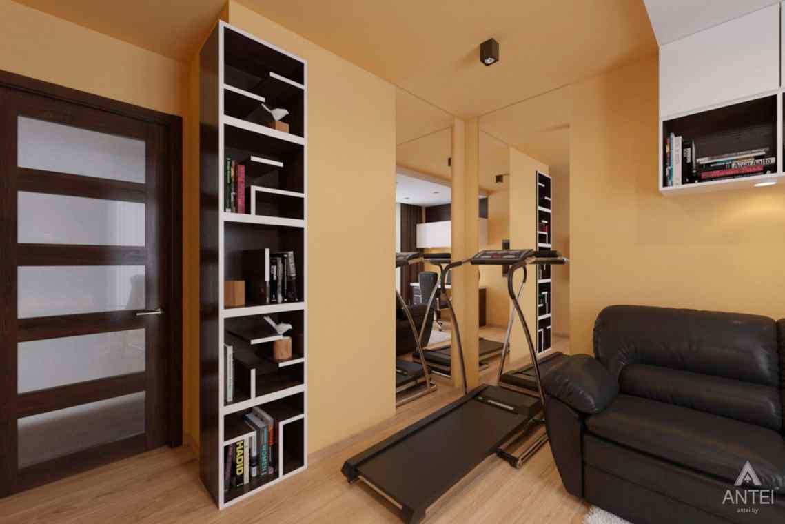 Дизайн интерьера квартиры в г. Гомеле, ул. Кожара, 55 - кабинет фото №3