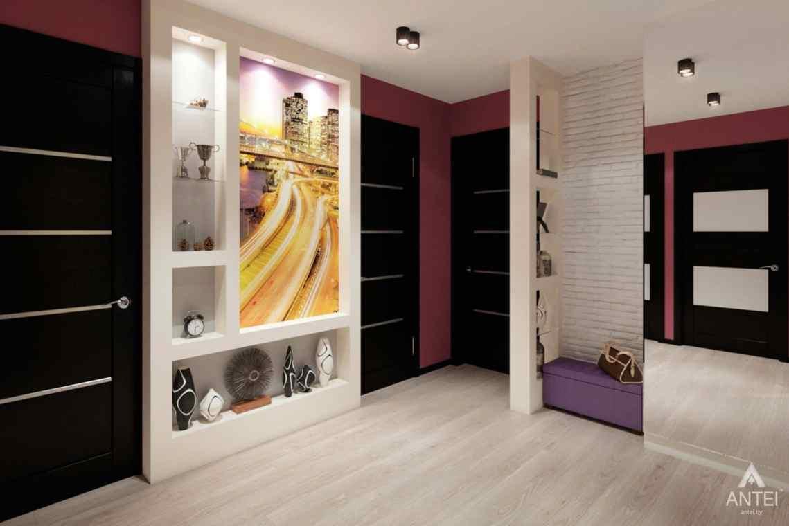 Дизайн интерьера квартиры в Гомеле, ул. Ландышева, 14 - прихожая фото №2