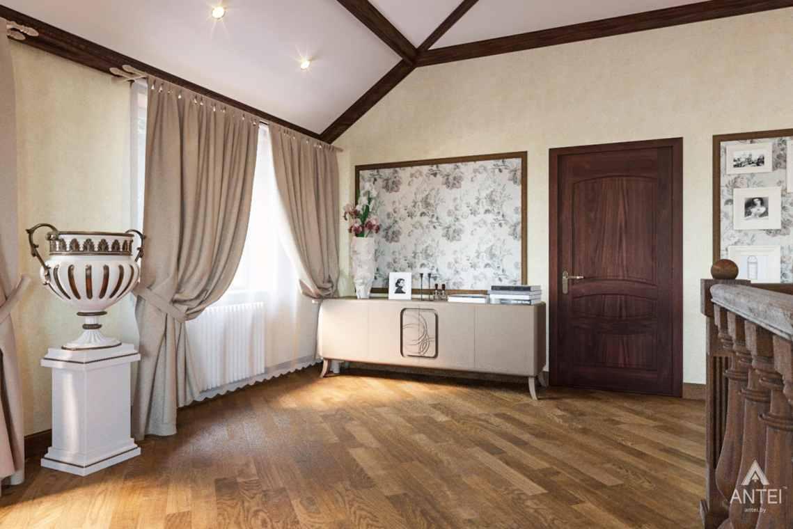 Дизайн интерьера коттеджа в г. Гомель, ул. Плеханова - спальня фото №1