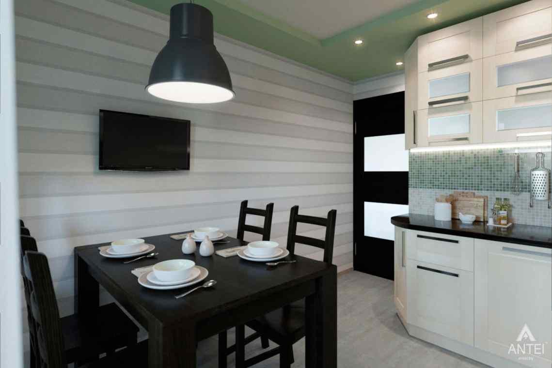 Дизайн интерьера квартиры в Гомеле, ул. Ландышева, 14 - кухня фото №3