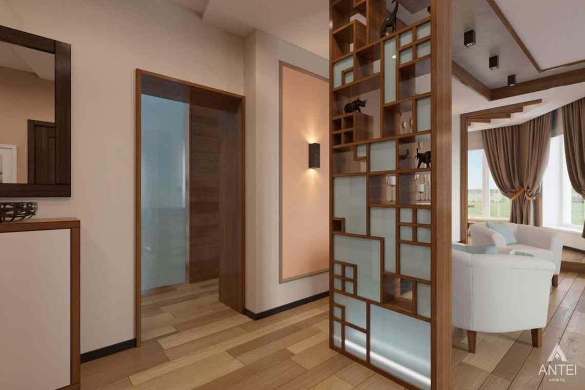 Дизайн интерьера загородного дома в п. Улуковье, Гомельский р-н - кухня фото №1