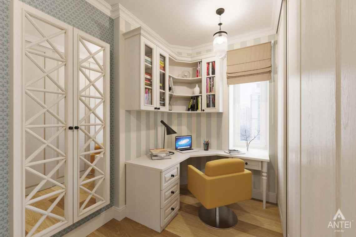 Дизайн интерьера квартиры в Гомеле, Проспект Ленина, 51 - кабинет фото №1
