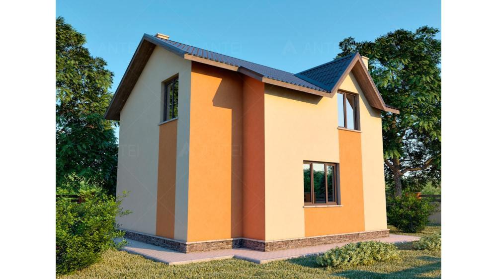Проект мансардного дома «КМ-38» - фото №2