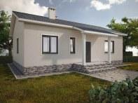 Проект одноэтажного дома «КО-4»