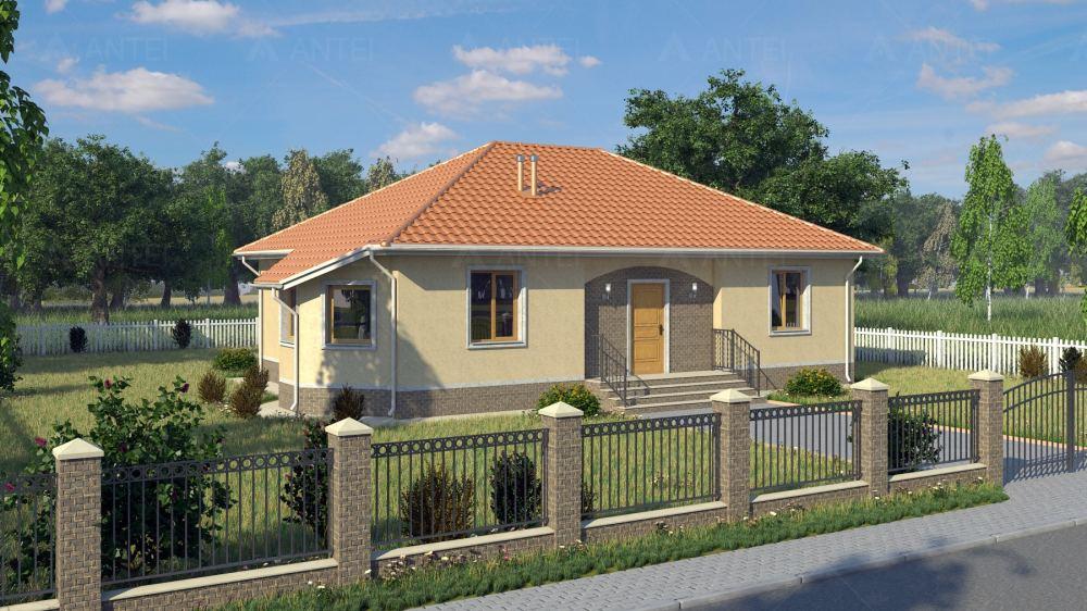 Проект одноэтажного дома «КО-6» - фото №1
