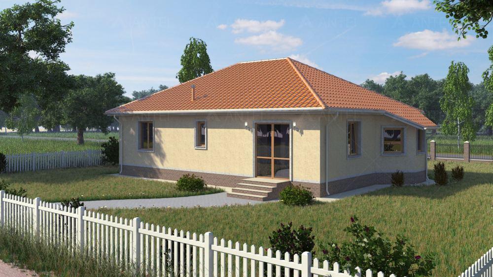 Проект одноэтажного дома «КО-6» - фото №2