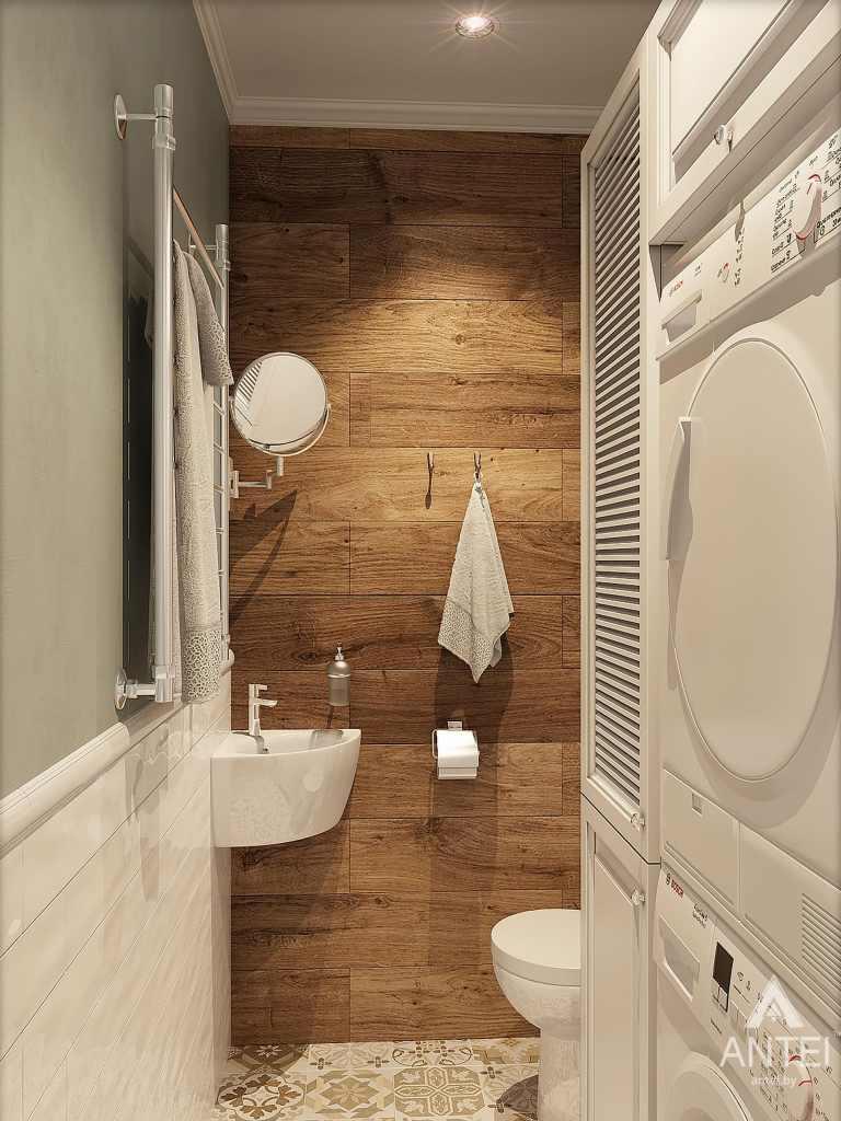 Дизайн интерьера квартиры в Минске - туалет фото №1