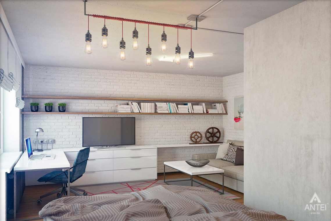 Дизайн интерьера квартиры в Петрикове - гостиная фото №1