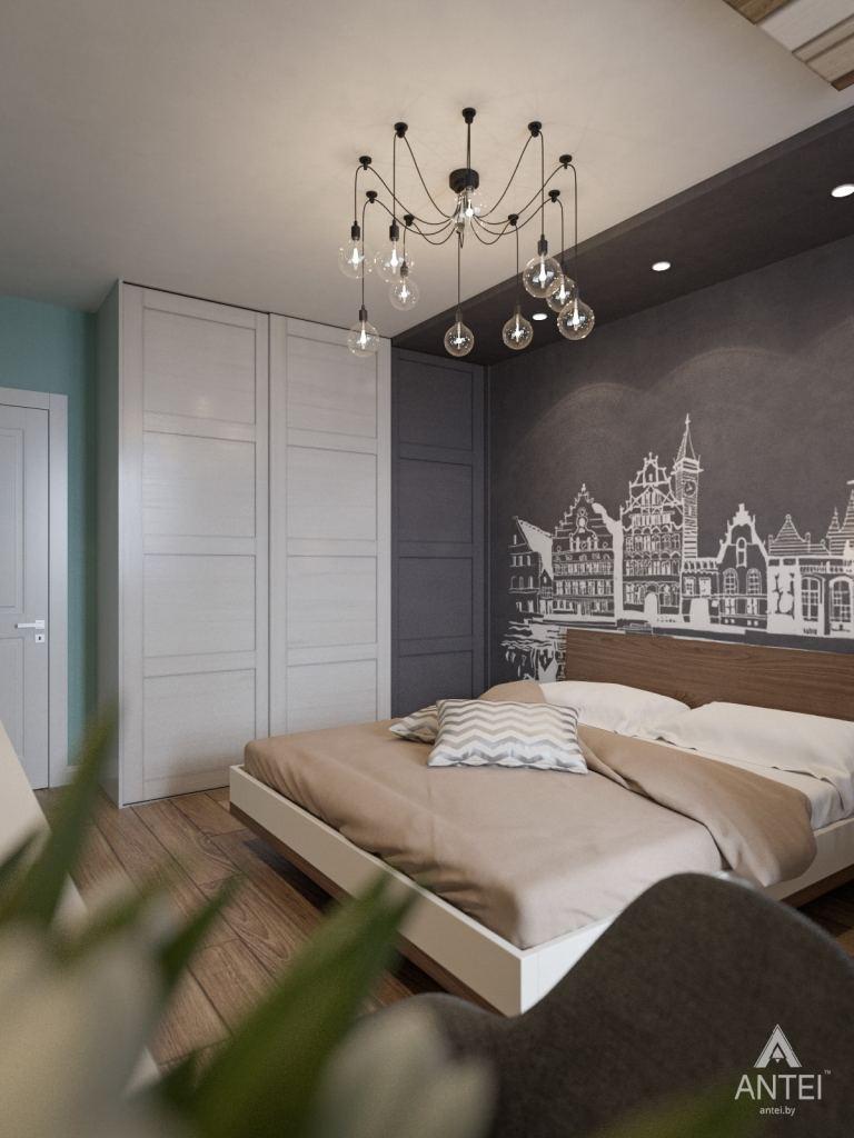 Дизайн интерьера квартиры в Гомеле, ул. Пенязькова - спальня фото №3