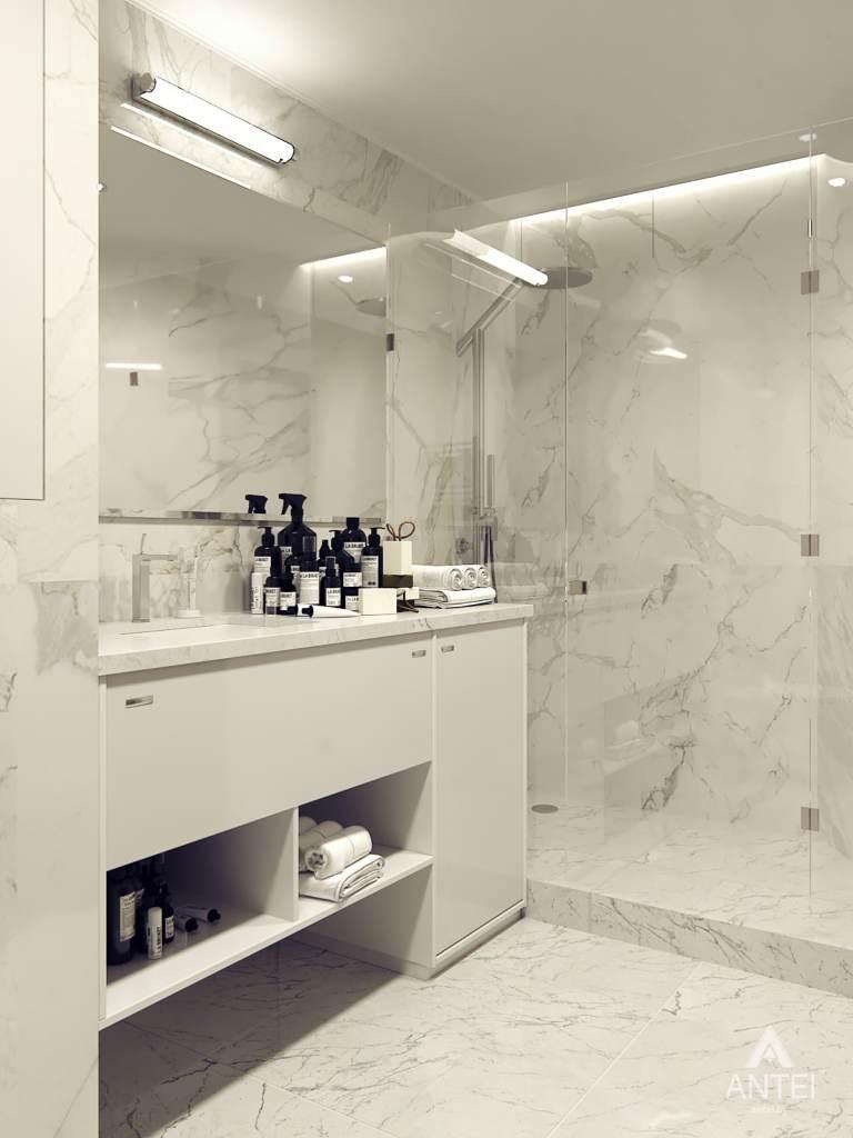 Дизайн интерьера квартиры в Гомеле, ул. Т.С. Бородина - ванная фото №3