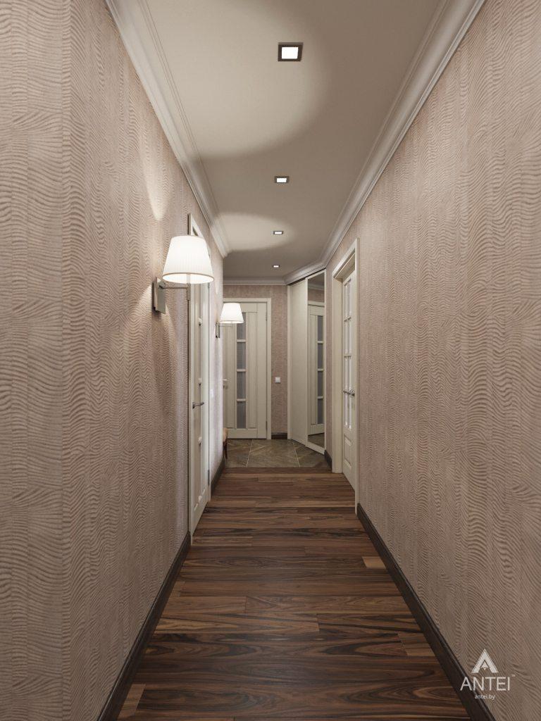 Дизайн интерьера квартиры в Гомеле, ул. Григория Денисенко - прихожая фото №4