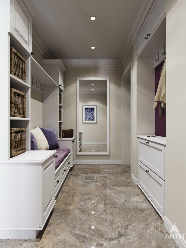 Дизайн интерьера квартиры в Гомеле - прихожая фото №1