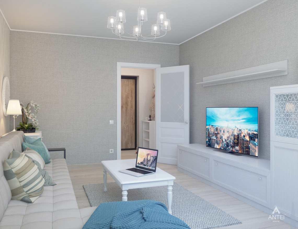 Дизайн интерьера квартиры в Гомеле, ул. Барыкина - гостиная фото №4