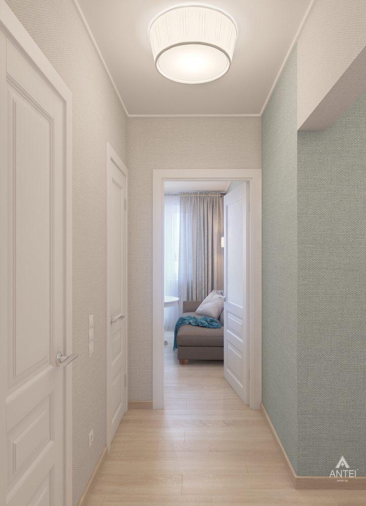Дизайн интерьера квартиры в Гомеле, ул. Барыкина - коридор фото №3