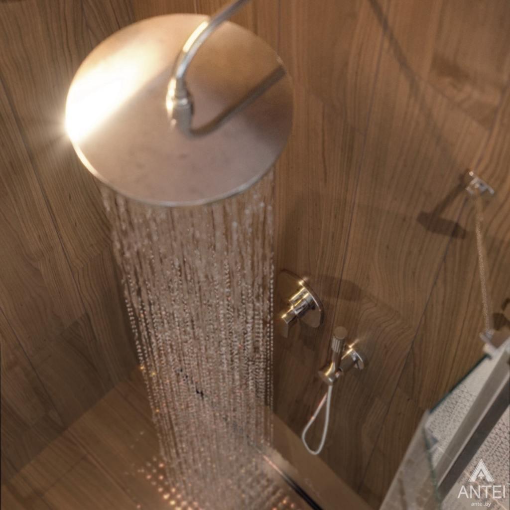 Дизайн интерьера одноэтажного загородного дома в д. Улуковье - ванная фото №7