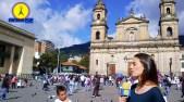 Tomen aire: Santa Iglesia Catedral Primada Basílica Metropolitana de la Inmaculada Concepción de María en Bogotá