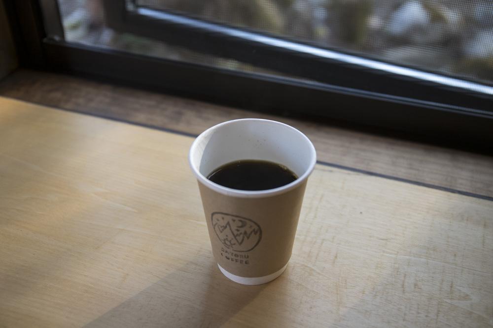 シングルオリジンのドリップコーヒー