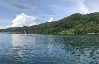 青木湖SUP